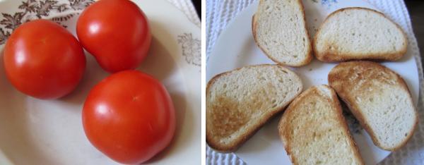 помидор и багет