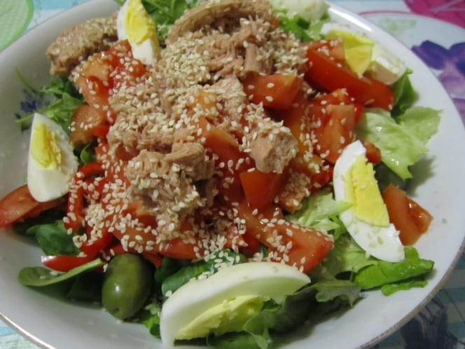 салат с тунцом 2