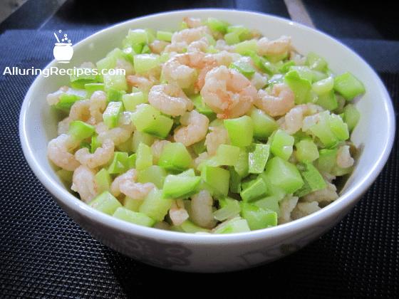 креветки и кабачок (shrimps-and-zucchini)