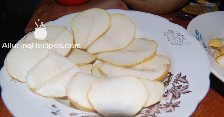 груши дольками - alluringrecipes